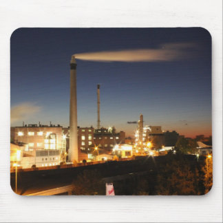 Industry at Night Mouse Pad