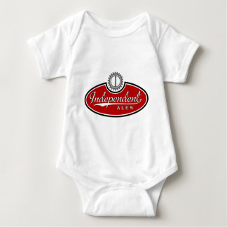 Indy Ales Logo Red Baby Bodysuit