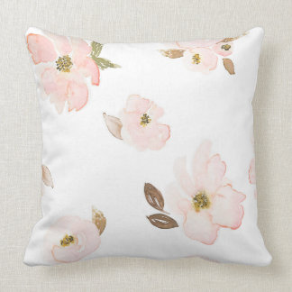 Indy Bloom Brown Blossoms Pillow