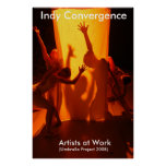 Indy Convergence 2008 Poster