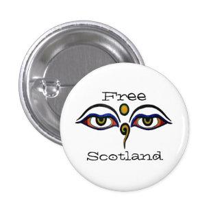 Indy Escocia Buda observa la insignia del botón de Pin Redondo De 1 Pulgada