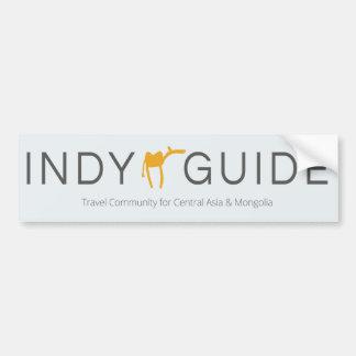 Indy Guide (car/door) sticker