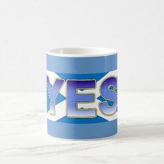 Indy Lion Rampant Scottish Flag Yes Mug