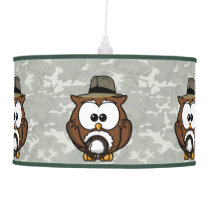 Indy owl hanging lamp