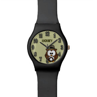 Indy owl wristwatches