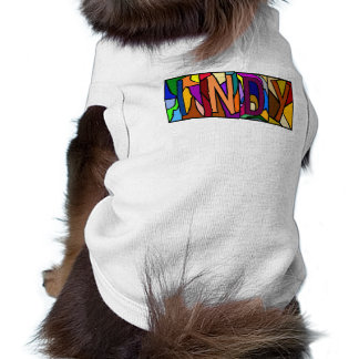 INDY ~ PERSONALIZED BGLETTERS ~ PET-WARE FOR DOGS! PET SHIRT