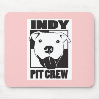 Indy Pit Crew Girly Mouse Pad