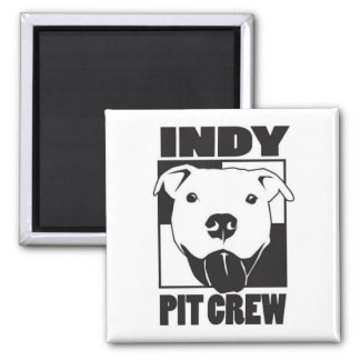 Indy Pit Crew Logo Magnet