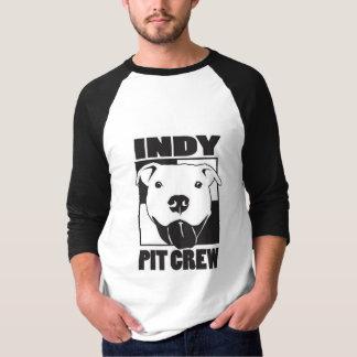 Indy Pit Crew Mens 3/4 Sleeve Raglan T-Shirt
