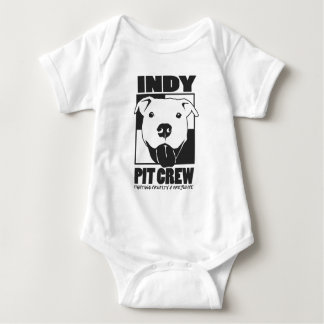 Indy Pit Crew Official Logo Baby Bodysuit