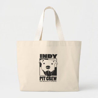 Indy Pit Crew Official Logo Tote Bags