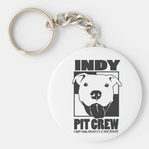 Indy Pit Crew Official Logo Key Chains