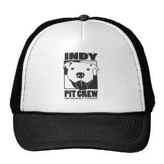 Indy Pit Crew Official Logo Mesh Hats
