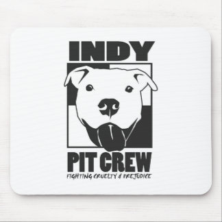 Indy Pit Crew Official Logo Mouse Pad