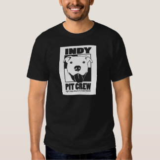 Indy Pit Crew Official Logo Tee Shirt