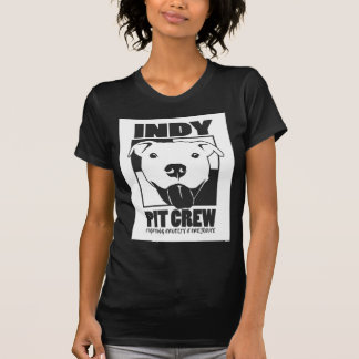 Indy Pit Crew official logo Tshirts