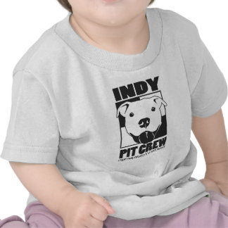 Indy Pit Crew Official Logo T Shirt