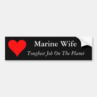 ine Wife Bumper Sticker Car Bumper Sticker