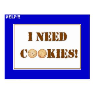 ineedcookies, HELP!!! Postcard