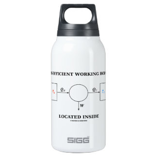 Inefficient Working Body Located Inside Physics Insulated Water Bottle