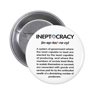 Ineptocracy Button