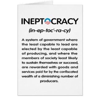 Ineptocracy Card