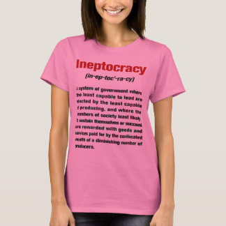 Ineptocracy Definition Ladies Long Sleeve T-Shirt