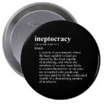 Ineptocracy Definition.png Pinback Buttons