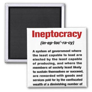 Ineptocracy Imán Cuadrado