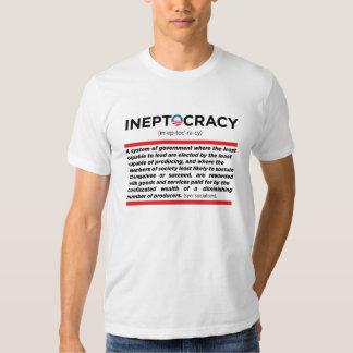 Ineptocracy - Obama Camisas