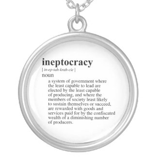 Ineptocracy.png Colgante Redondo