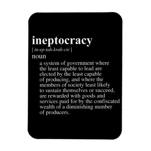 INEPTOCRACY.png Imanes De Vinilo