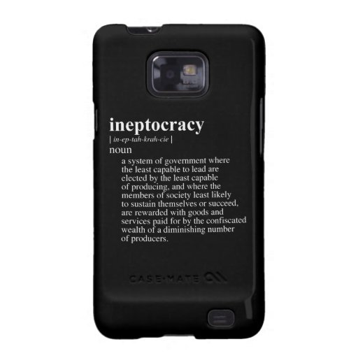 INEPTOCRACY.png Samsung Galaxy SII Case