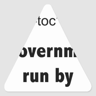 Ineptocracy Republicans Triangle Sticker