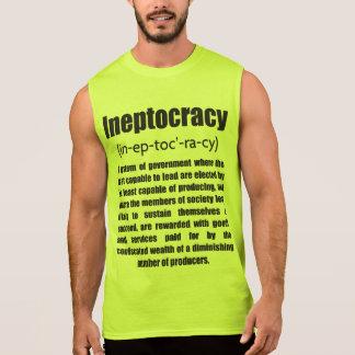 Ineptocracy Sleeveless Shirts
