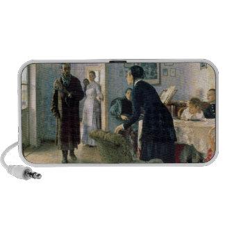 Inesperado, 1884-88 iPhone altavoces