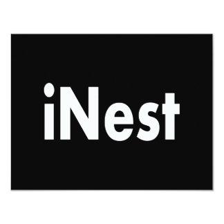 iNest 4.25x5.5 Paper Invitation Card
