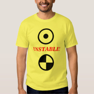 ¡Inestable! Camisas