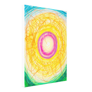 Inexhaustible Vitality Canvas Print