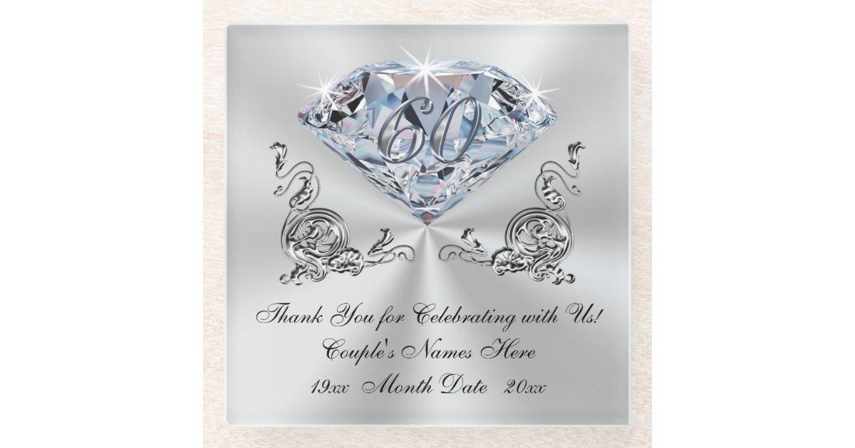 Diamond Wedding Gift Ideas: Inexpensive Diamond Wedding Anniversary Gift Ideas Glass