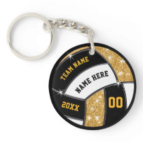 Inexpensive Volleyball Gift Ideas for Senior Night Keychain