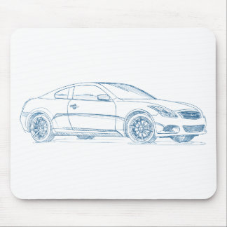 Inf G37 Coupe gen1 Mouse Pad