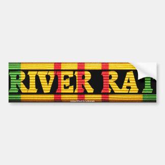 Inf ripícolas. Rata VSM del río Pegatina Para Auto