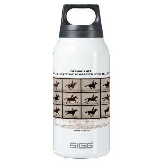 Infamous Bet 4 Legs Sallie Gardner Leave Ground Insulated Water Bottle
