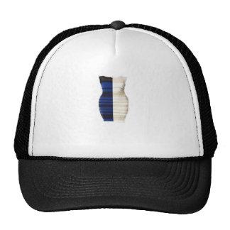 Infamous Black & Blue Dress White gold Items Trucker Hat