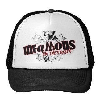 INFAMOUS IN DETROIT STARS TRUCKER HAT