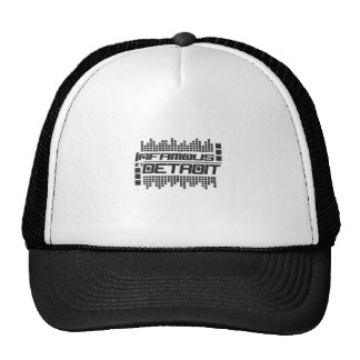 Infamous In Detroit Techno Trucker Hat