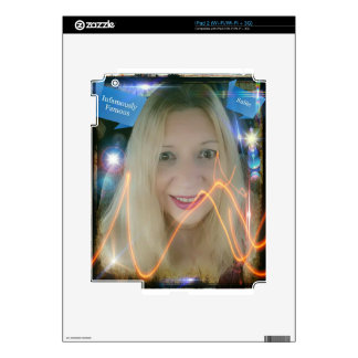 Infamous Lighting Susie iPad 2 Decal