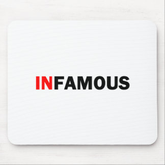 Infamous Mouse Pad