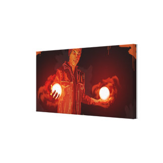 INFAMOUS SECOND ARE CANVAS PRINT